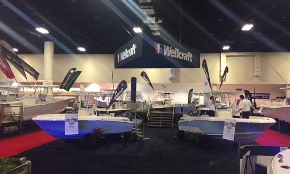 2018 FLL Boat Show   WELLCRAFT Display CC 3